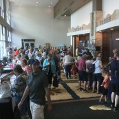 Crowds rushed into the 2017 National Festival of Breads. More than 3,000 attended the event.