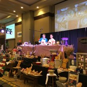 The King Arthur Flour Bake for Good program presented at the 2017 NFOB, as well as created baked goods to be donated to the Flint Hills Breadbasket.