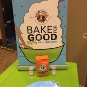The King Arthur Flour Bake For Good Program was a popular hands-on activity where attendees could put their knowledge to the test.