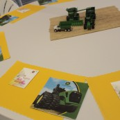 John Deere was a sponsor of the farm tour and the online People's Choice Award.