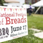 The National Festival of Breads welcomed attendees from all around the US.