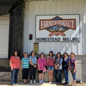 Finalists are also able to tour Farmer Direct Foods, a mill in New Cambria, Kansas.