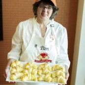 Pam Correll with her final entry for the 2017 National Festival of Breads.