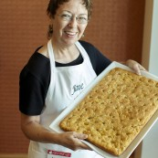 Jane Fry with her final entry for the 2017 National Festival of Breads.
