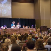 King Arthur Flour showed attendees how to Bake for Good!