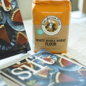"Also featured at the festival was the King Arthur Flour ""Sift Magazine"" and White Whole Wheat Flour"