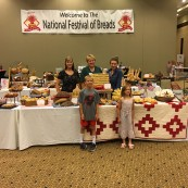 Another popular exhibit was Breads Around Kansas which exhibited the best of Kansas bakeries.