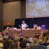 Jeff Hertzberg presenting at the 2017 National Festival of Breads