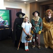 Visitors were able to mingle with Kansas legends from the Wizard of Oz. Sponsored by the Wamego Chamber of Commerce.