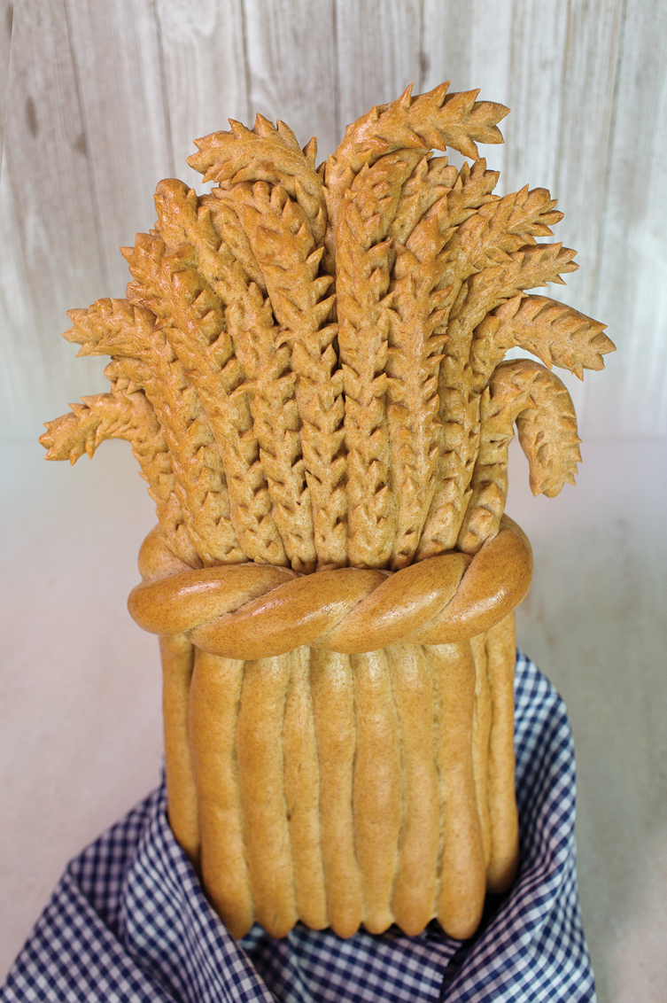Wheat State Sheaf, bread shaping