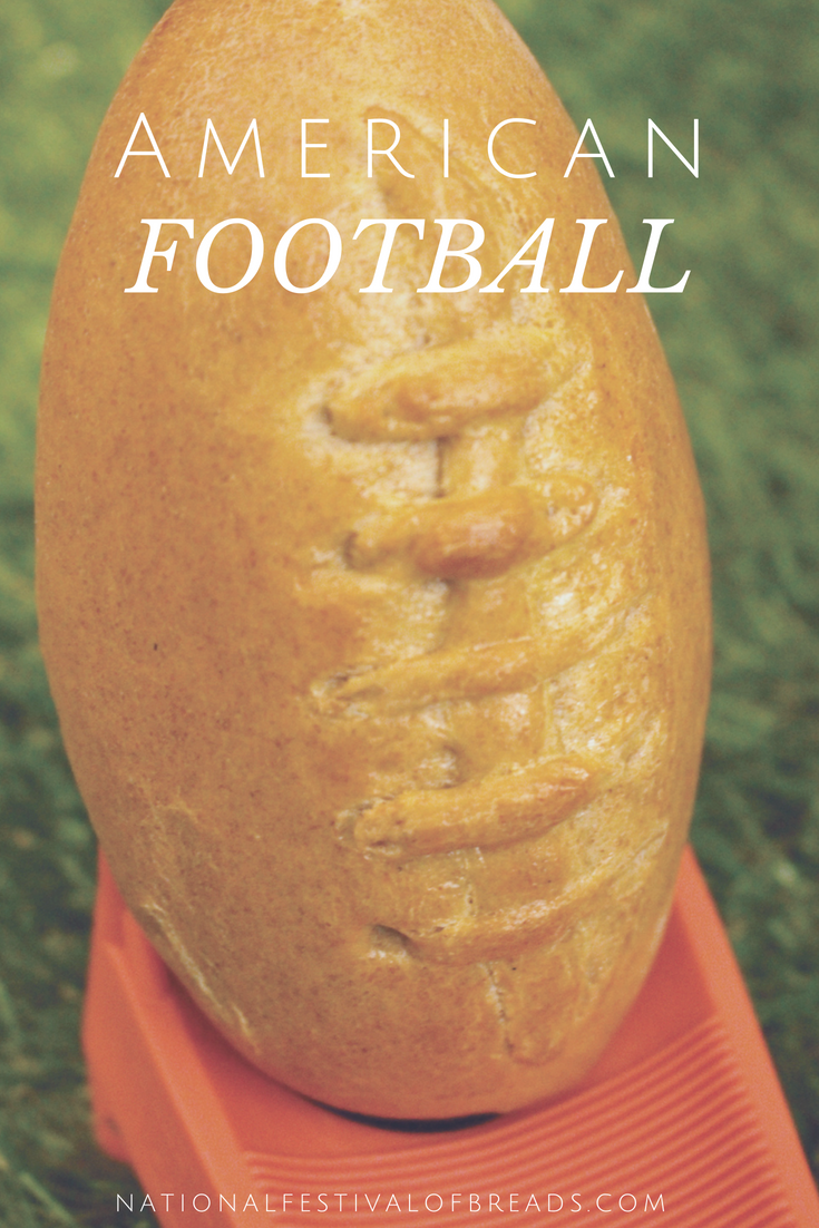 Are you ready for some football.... bread? This creative shape is perfect for the Big Game or just a Sunday Night treat.