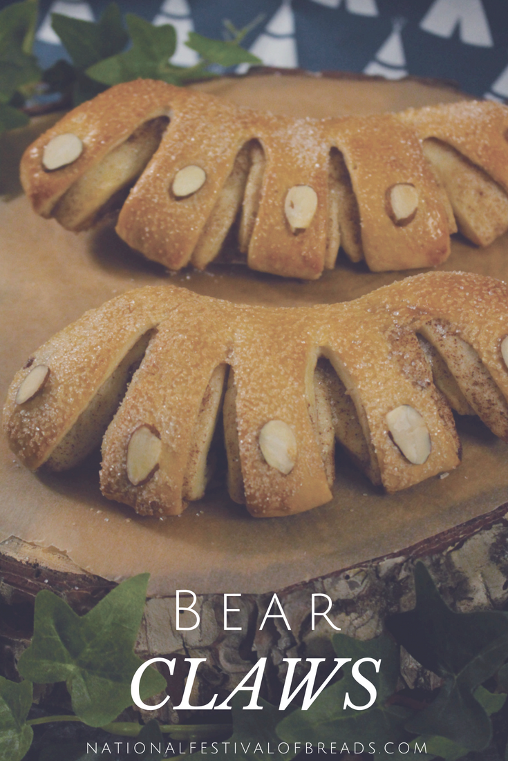 These Bear Claws will be sure to satiate the hunger of even the pickiest of cubs!