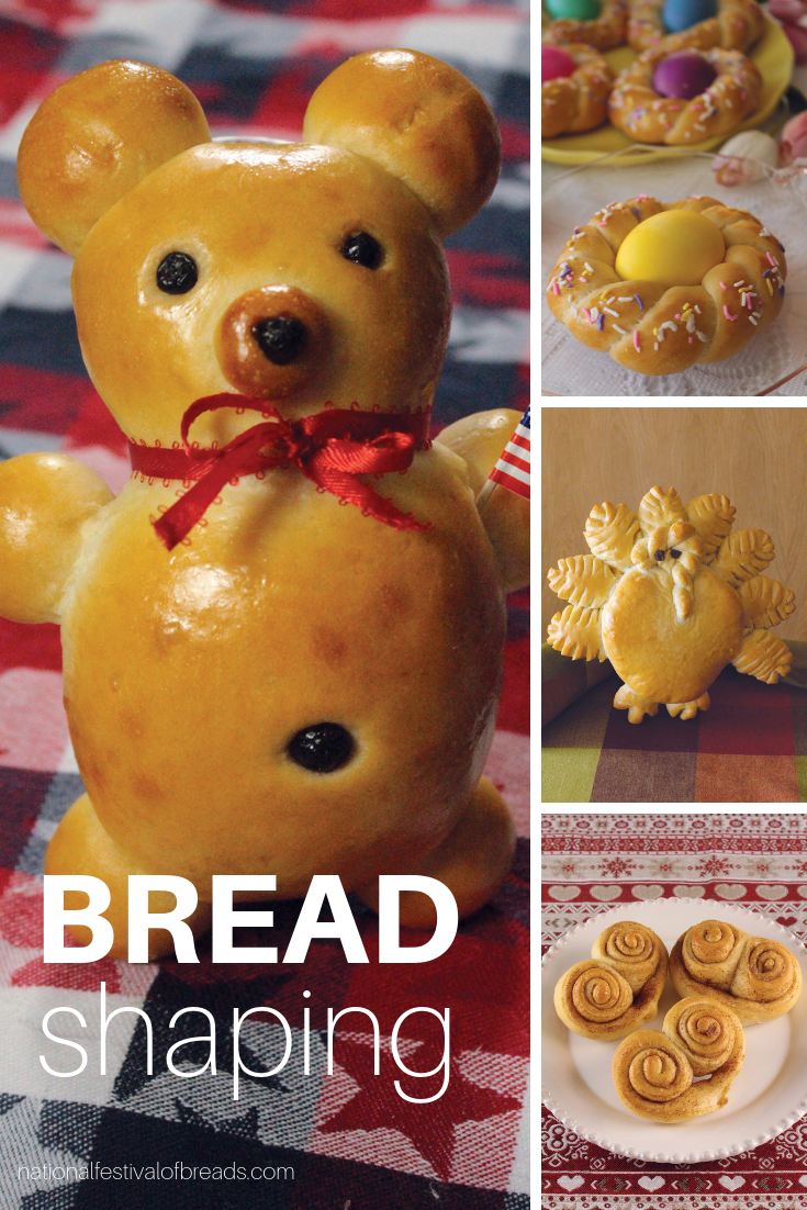 Who knew that you could make sculptures out of BREAD?! This is a great way to get the entire family in the kitchen... Make some memories and sculpt some dough! What better way to drive home the art AND science of baking!