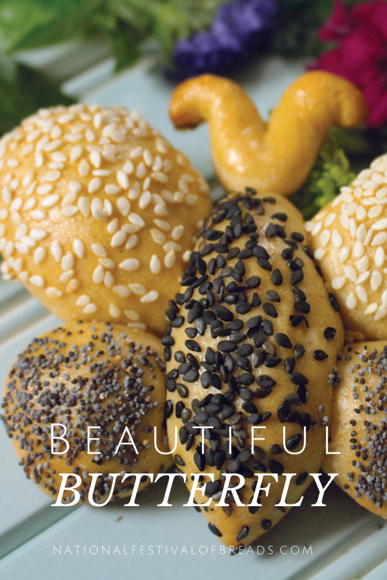 This Beautiful Butterfly bread is sure to dazzle your friends! Learn how to create this beautiful creature with step-by-step photos and instructions!