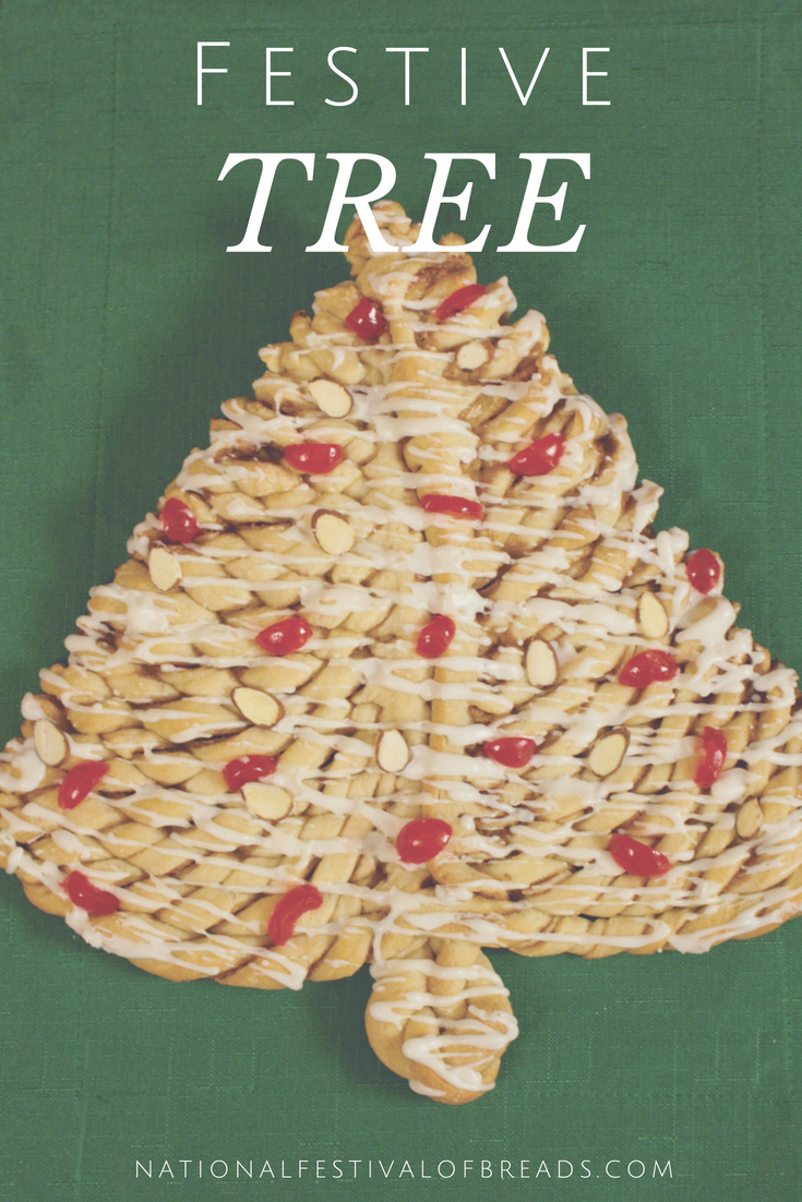 Get into the spirit of the holidays with this Festive Tree Bread Shape! This mouth watering bread recipe will impress any holiday guest at your get-together!