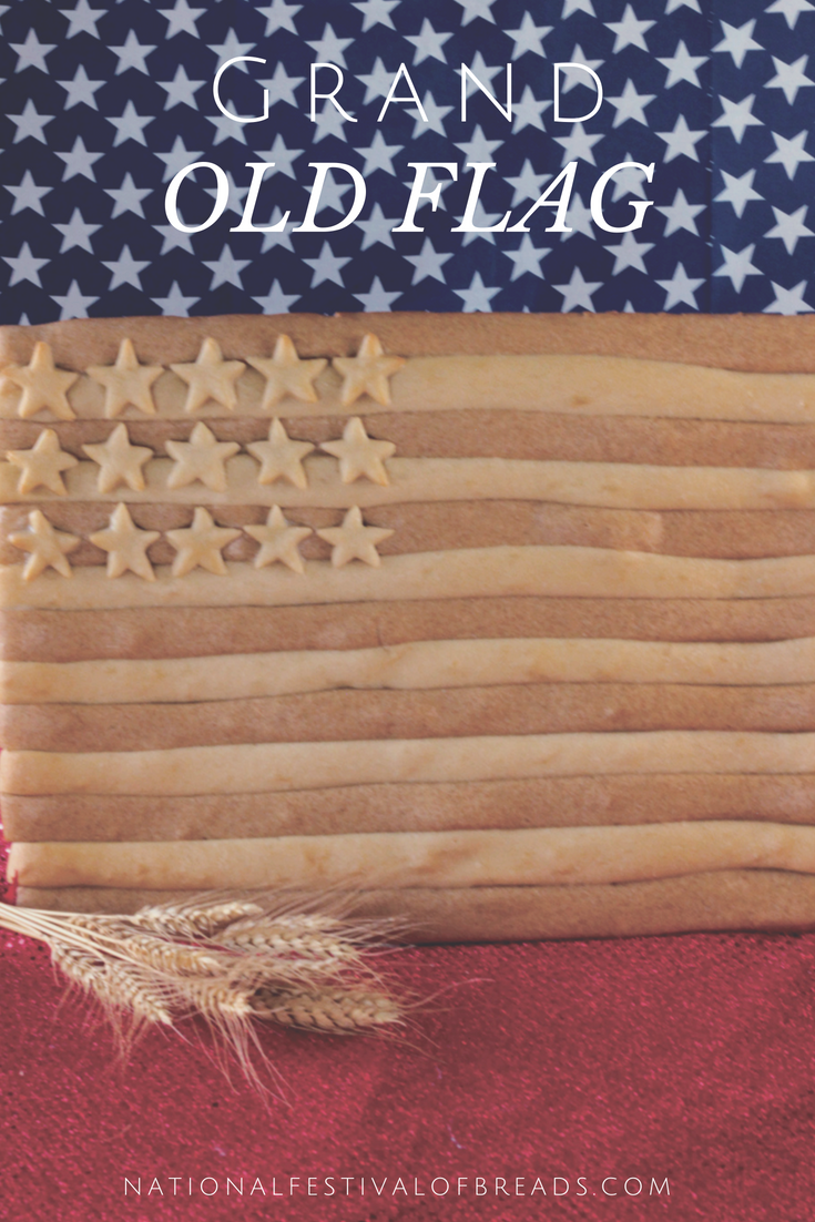 This Grand Old Flag is the perfect bread sculpture for any patriotic event. Take a look at our step-by-step photos and instructions and show off your love of America!