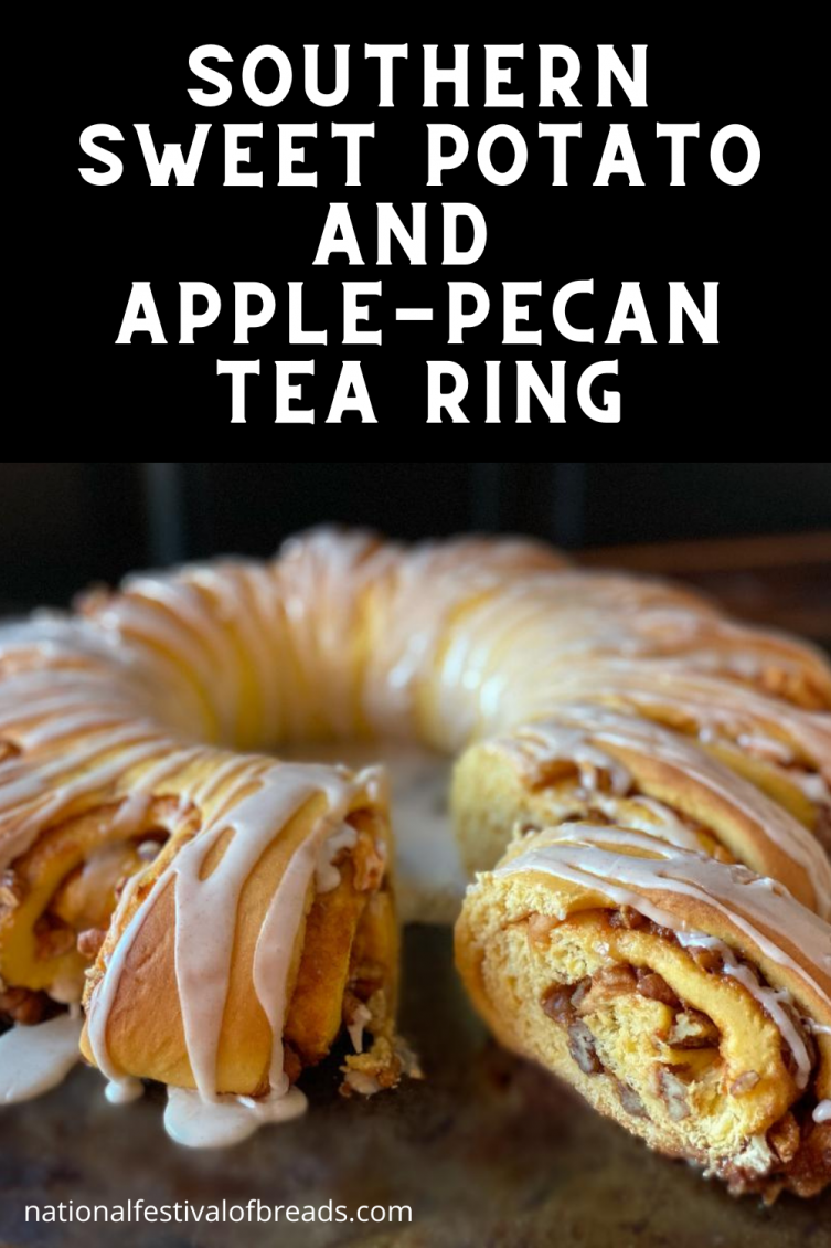 Southern Sweet Potato and Apple-Pecan Tea Ring | NationalFestivalofBreads.com