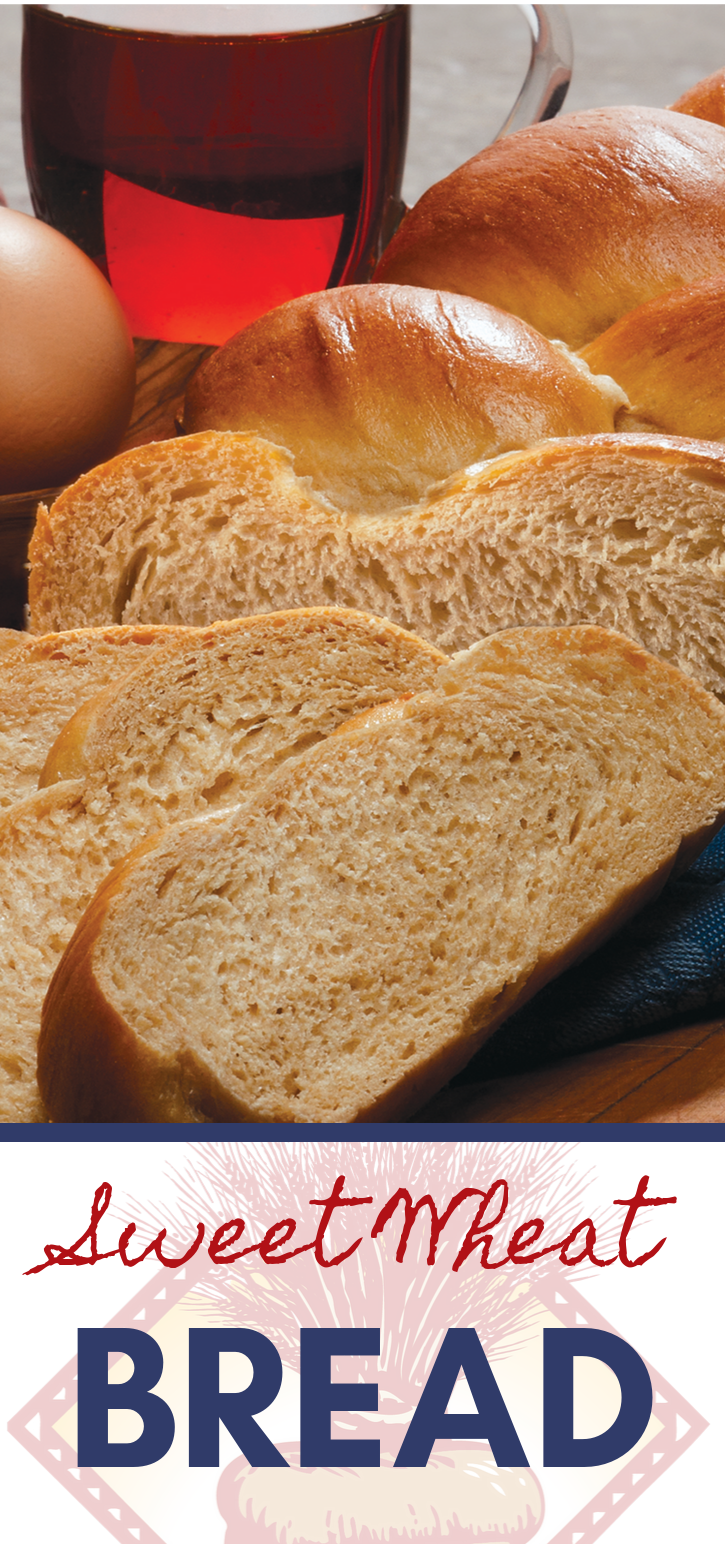 Sweet Wheat Bread is your new go-to bread recipe!