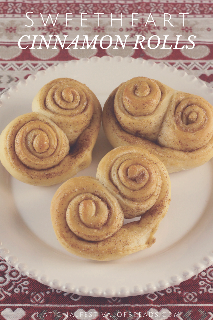 These Sweetheart Rolls are PERFECT for your bae! With step-by-step photos and instructions for these delicious treats, you'll be sure to have a memorable day of love!