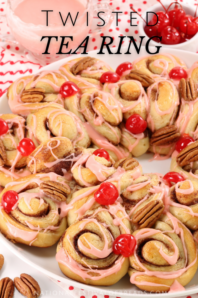 This Twisted Tea Ring is sure to up the 'fancy' level on any spring celebration! We've got step-by-step photos and instructions to help you impress even the most meticulous of guests!
