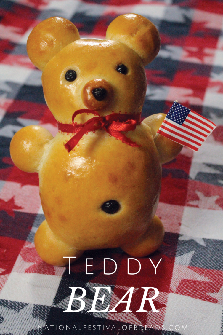 This Teddy Bear Bread is almost too cute to eat!.... Almost! Get your kids in the kitchen to help you build a bear right at home, and one that you can eat, no less!