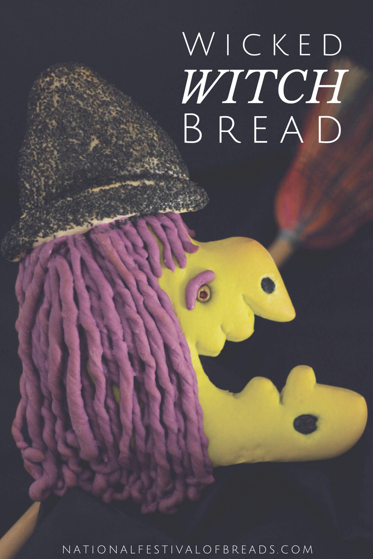 This Wicked Witch Halloween Bread is the perfect spooky treat for the creepiest of parties. We're not here to trick ya, we've got step-by-step photos and instructions!