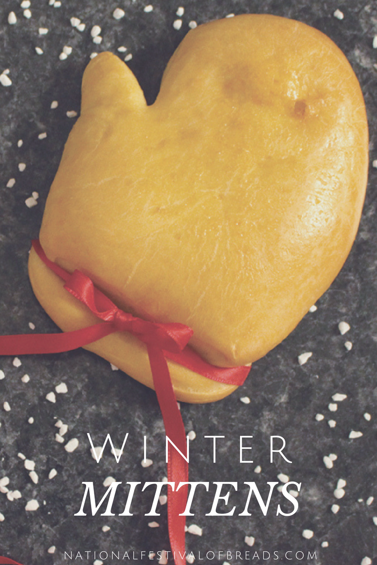These adorable Winter Mitten Rolls are a tasty way to warm up your home! Get to baking and show off your talents with these bread sculptures!