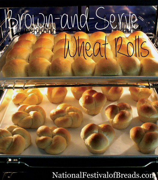 Brown And Serve Wheat Rolls National Festival Of Breads