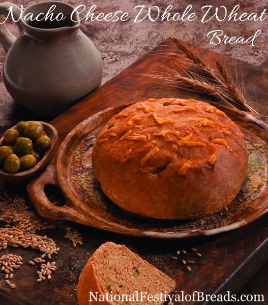 Nacho Cheese White Whole Wheat Bread National Festival Of Breads