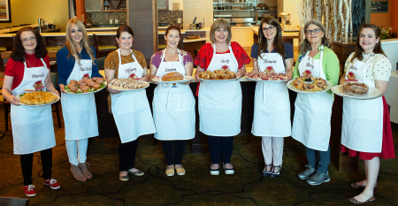 Finalists, pictured left to right: Brenda Watts, RaChelle Hubsmith, Tiffany Aaron, Lauren Katz, Suzy Neal, Shauna Havey, Merry Graham, Kristin Hoffman.