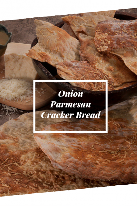 Onion Parmesan Cracker Bread was the 2013 National Festival of Breads champion!