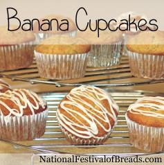 Image: Banana Cupcakes.