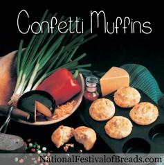 Image: Confetti Muffins.
