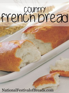 Image: Country French Bread.