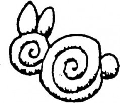 Image: Shaping Curlicue Bunnies.