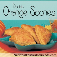 Image: Double Orange Scones.