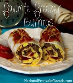 Photo: Favorite Freezer Burritos.