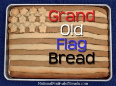 Photo: Grand Old Flag Bread.