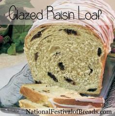 Photo: Glazed Raisin Loaf.