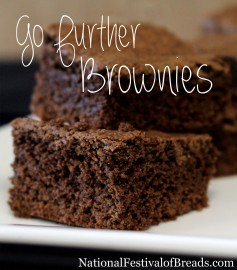 Photo: Go Further Brownies.