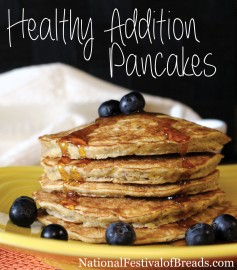 Photo: Healthy Addition Pancakes.