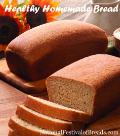Image: Healthy Homemade Bread.