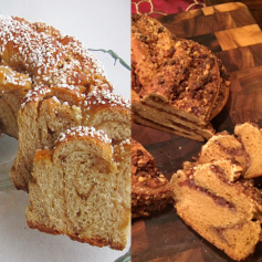 Finalists in the Holiday Breads Category.