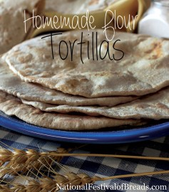 Photo: Homemade Flour Tortillas.