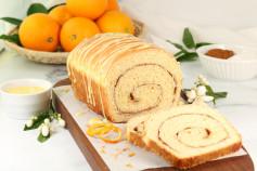 Photo: Cinnamon Swirl Orange Bread.