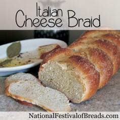 Image: Italian Cheese Braid.