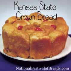 Image: Kansas State Crown Bread.