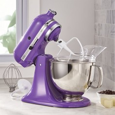 Win a purple KitchenAid Mixer!