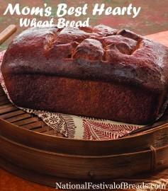 Image: Mom's Best Hearty Wheat Bread.