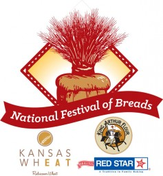 Image: National Festival of Breads logo.